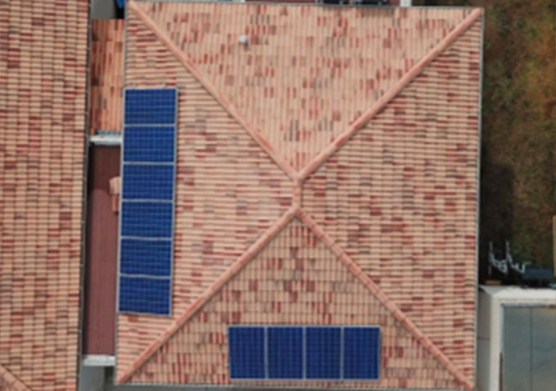 central solaire corse realisation full less energy